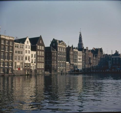 Damrak, and the rear of Warmoesstraat, Amsterdam