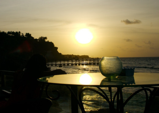 Sunset At Bali