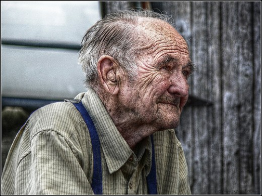 Spent His Life Farming- HDR from JW Vraets  flickr.com