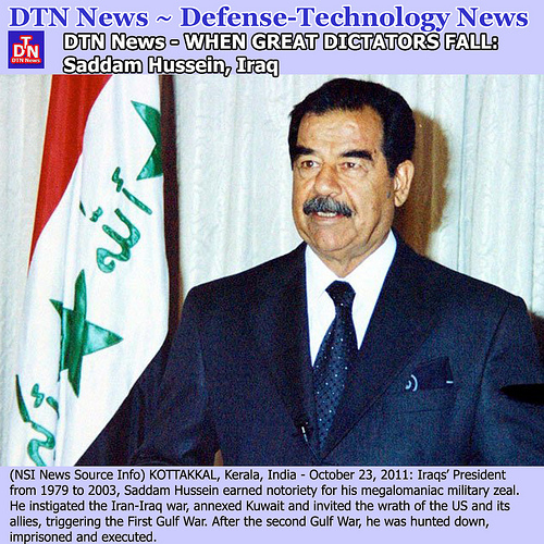 DTN News- Saddam Hussein from DTN News flickr.com