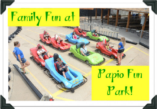 Good clean fun for the entire family is what you will find at Papio Fun Park in Omaha!