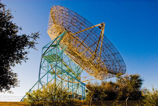 The big DIsh at Standford. Number Four University around the world.