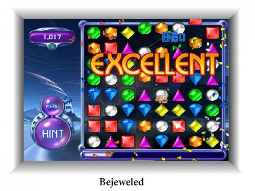 Despite of being an old game, Bejweled is still a fun to play