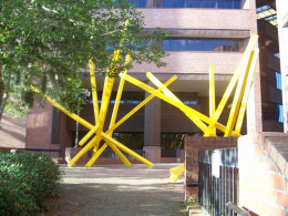 French Fry sculpture at the University of Florida