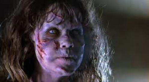 The Exorcist was supposedly based on a true story about a child who is possessed by a demon.