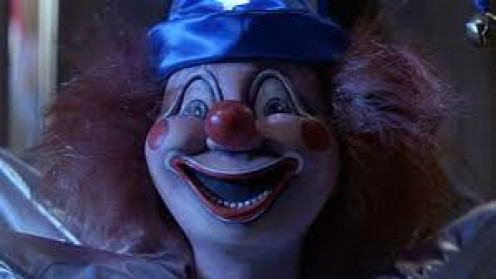 Clowns and other inanimate objects have been reported to be possessed by demons for hundreds of year.