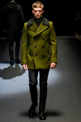 Gucci pea coat