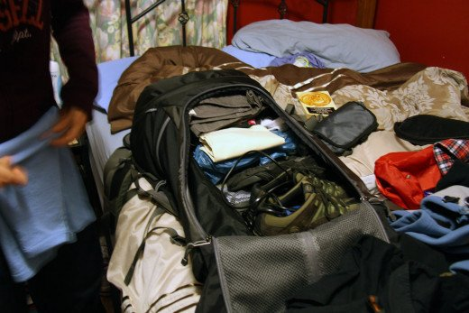 Inside Your Backpack