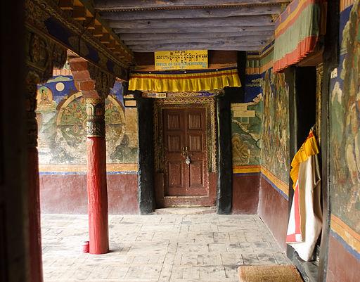 Buddhist Gompa  in Leh