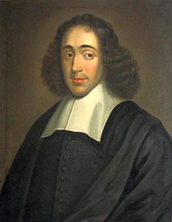 According to Spinoza (XVII century) only God, as cause of him-self, can be considered free. Men are only conscious of their passions and their needs, but do not know what causes them. Their freedom consists in accepting the law of necessity.