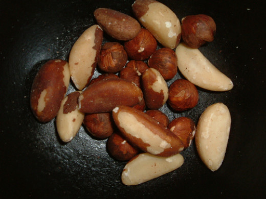Brazil nuts are a great source of natural Selenium.