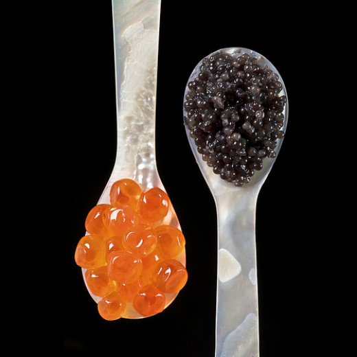 Vitamin B12 can be found in caviar.