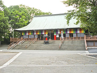 Kita-in Temple main hall