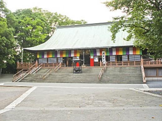 Kita-in Temple main hall