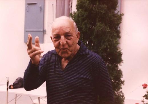 My grandfather Sergio Retti Marsani in Geneva, Switzerland