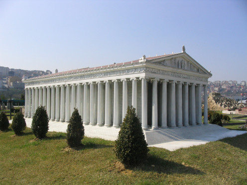 A prototype of the Temple of Artemis. Location: Turkey