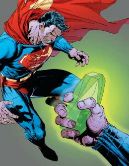 Superman and kryptonite