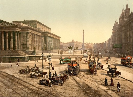 St George's Hall etc. 1890