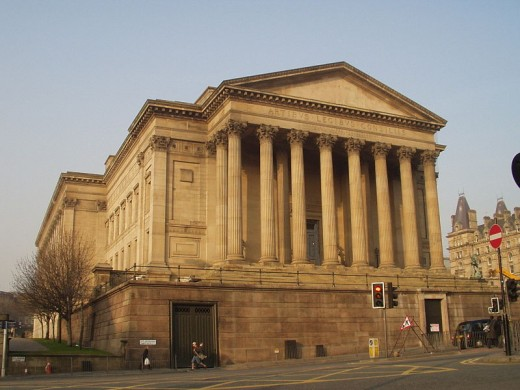 St George's Hall, South Side (viewed from The Penny Farthing)
