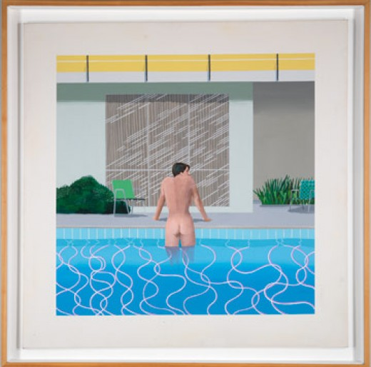 Hockney, Peter Getting Out Of Nick's Pool