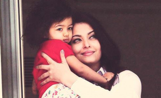 Aishwarya with daughter, Aaradhya Bachan
