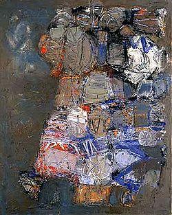 Hamburg Painting no. 2, Stuart Sutcliffe