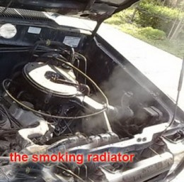 detect  overheating engine  driving