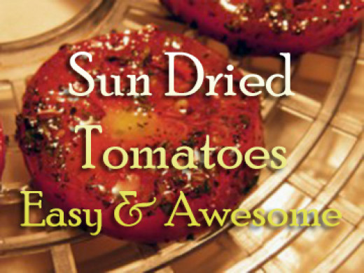 Easy recipe and tips for making the best sun dried tomatoes you have ever eaten.