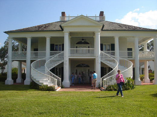 """A slaver's mansion from """"Django: Unchained.""""  The film would enrage even the most tepid of souls."""