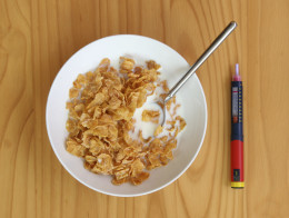 Keep eating a breakfast like this for a few years, and you will need the insulin pen!