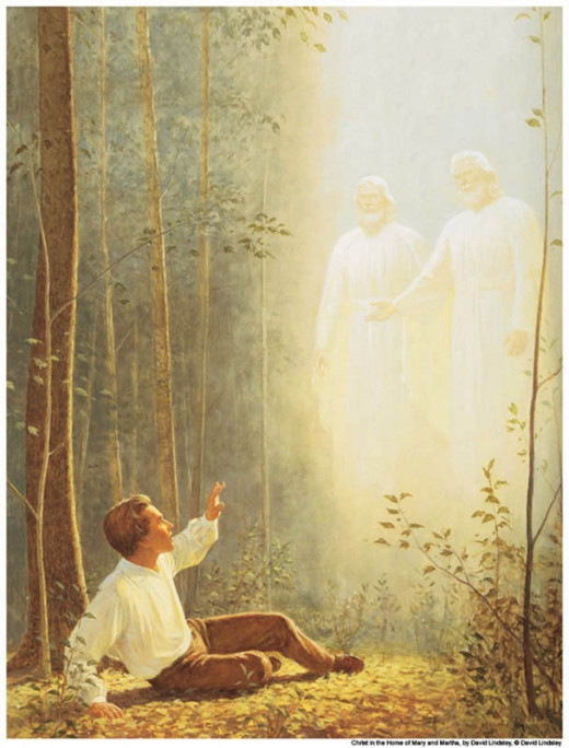 Joseph Smith receives a vision of Jesus Christ and God the Father
