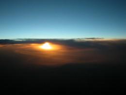 Sunrise over Cairo