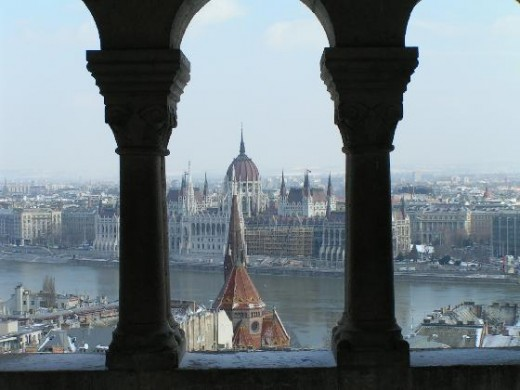 Budapest from Fisherman's Bastion