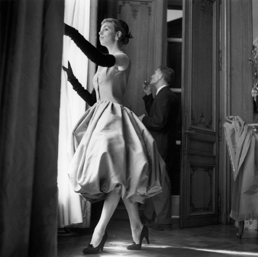 Haute Couture Dress - Paris in the Fifties