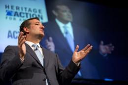 Texan Republican Sen. Ted Cruz bashing Obamacare again
