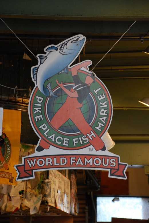 Don't miss the world famous fish mongers at the Pike Place Market.