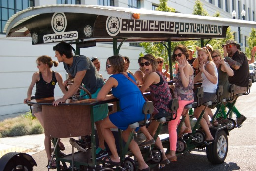The Brewcycle, a unique way to visit a few of Portland's best breweries.