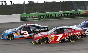 Dillon (#3) and Regan Smith (#7) are competing for the Nationwide title and were both considered for the Stewart Sprint Cup job