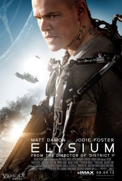 Matt Damon's Elysium Movie Review....