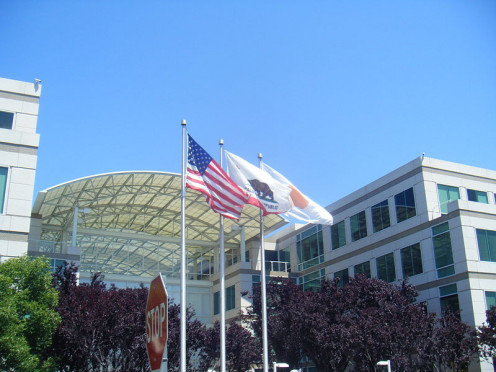 One Infinite Loop, Cupertino CA.