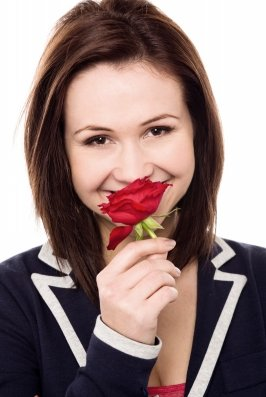 Blush away every time your guy flirts with you. The more you encourage this behavior, the more you will allow him to open up.