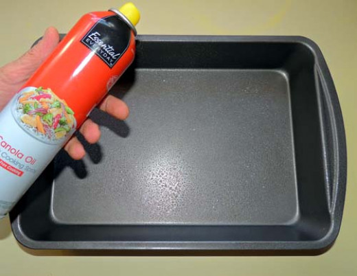 spray 9x13 casserole with cooking spray