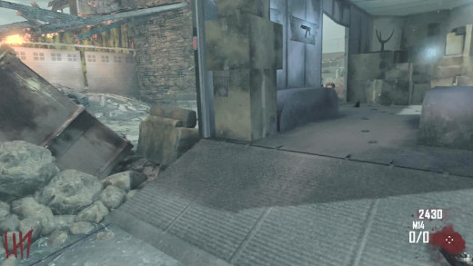 The truck in the center of the map holds various Wall Weapons.