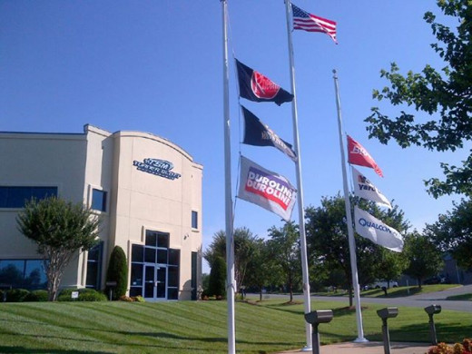 The headquarters for Turner-Scott Motorsports is not built for a one car operation