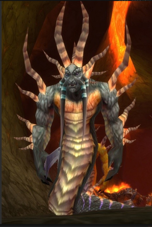 Lucifron, first boss of Molten Core