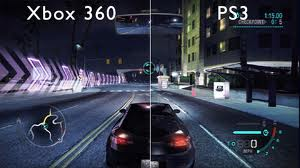 Xbox 360 and PS3 game play comparison