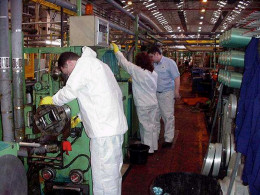 Clean Machinery Allows Problems to be Seen