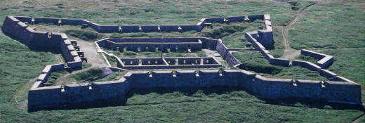 The Prince of Wales Fort,  Hudson Bay ,The Churchill, Manitoba
