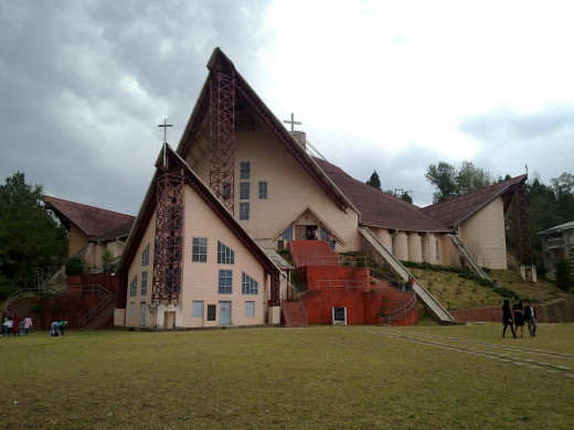 This Cathedral is one of best tourist attractions in Kohima.