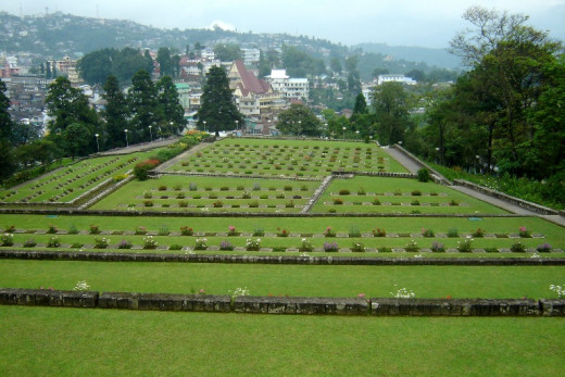 WW II Memorial War Cemetery, Kohima
